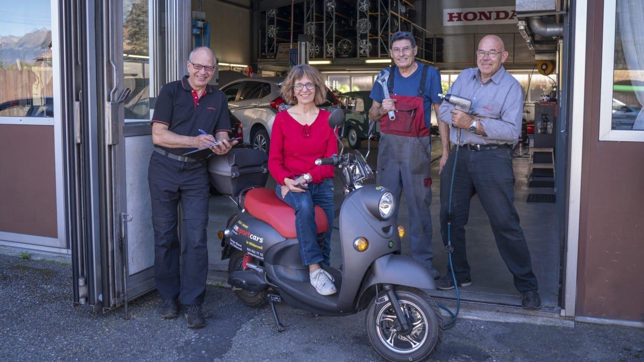 Das Team der am-sportcars Autogarage